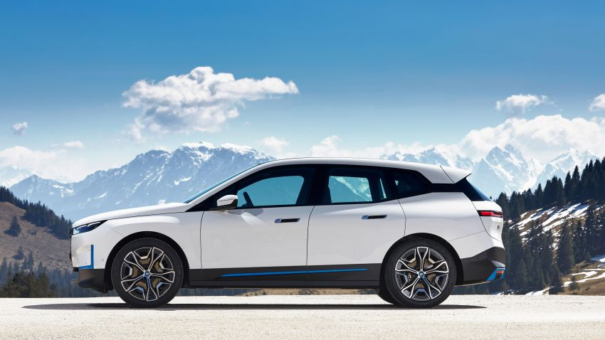 BMW iX fully detailed – power, range bumped slightly to up to 523 PS, 630 km; new M60 with over 600 PS Image #1301676