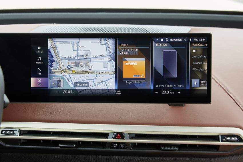 BMW iX fully detailed – power, range bumped slightly to up to 523 PS, 630 km; new M60 with over 600 PS Image #1301648