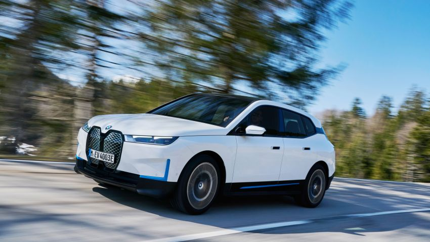 BMW iX fully detailed – power, range bumped slightly to up to 523 PS, 630 km; new M60 with over 600 PS Image #1301702