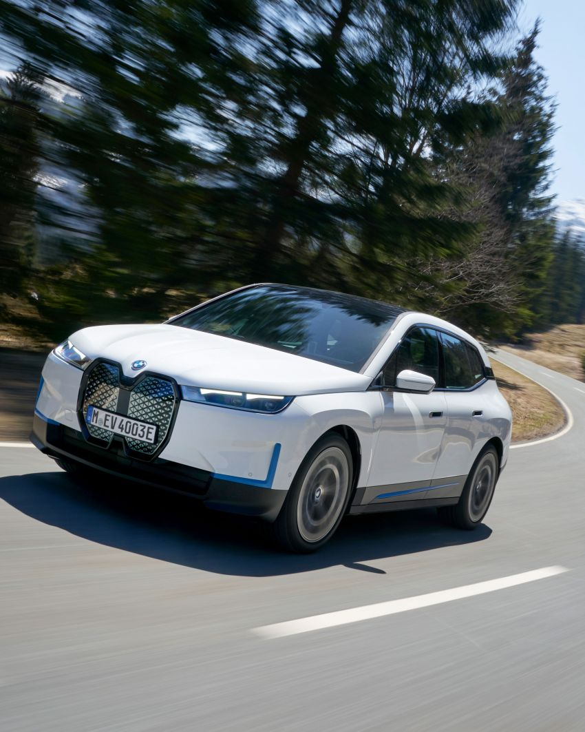 BMW iX fully detailed – power, range bumped slightly to up to 523 PS, 630 km; new M60 with over 600 PS Image #1301706
