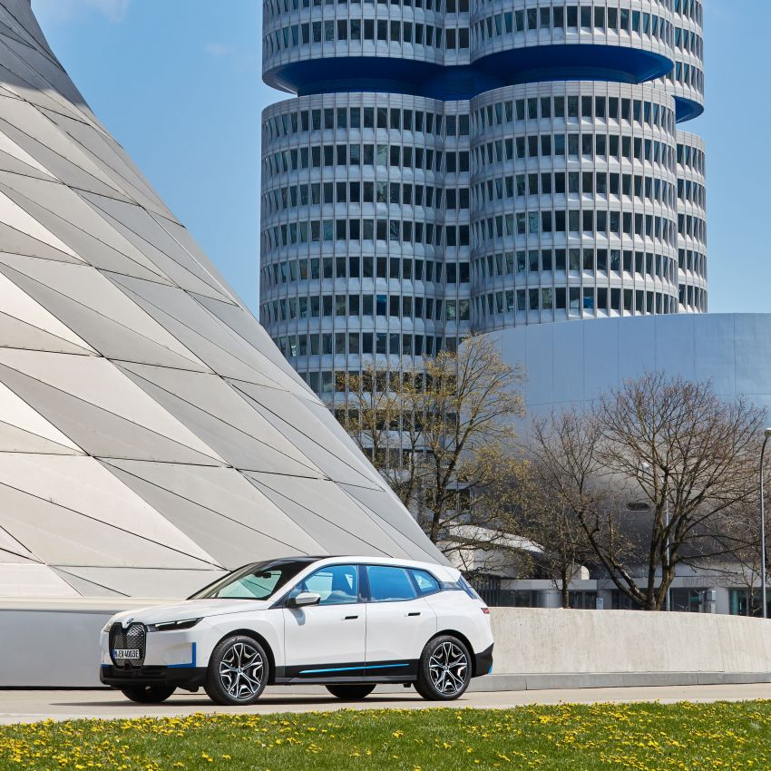 BMW iX fully detailed – power, range bumped slightly to up to 523 PS, 630 km; new M60 with over 600 PS Image #1301738