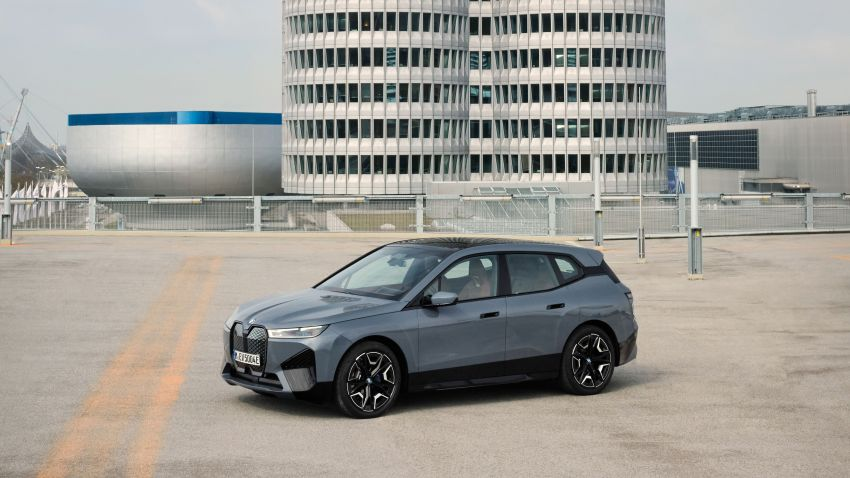 BMW iX fully detailed – power, range bumped slightly to up to 523 PS, 630 km; new M60 with over 600 PS Image #1301825