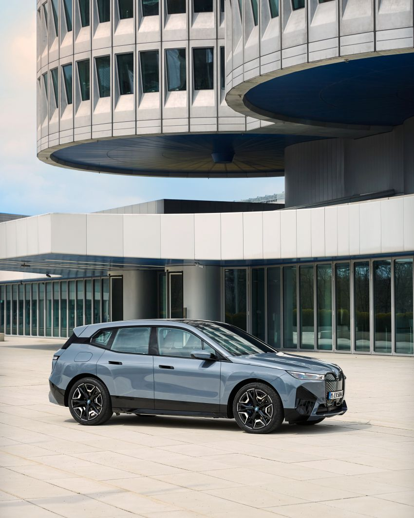 BMW iX fully detailed – power, range bumped slightly to up to 523 PS, 630 km; new M60 with over 600 PS Image #1301845