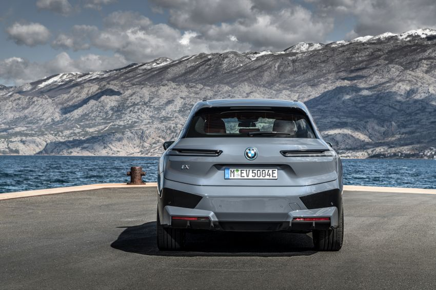 BMW iX fully detailed – power, range bumped slightly to up to 523 PS, 630 km; new M60 with over 600 PS Image #1301855