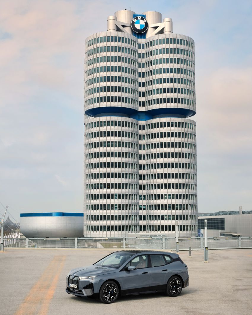 BMW iX fully detailed – power, range bumped slightly to up to 523 PS, 630 km; new M60 with over 600 PS Image #1301827