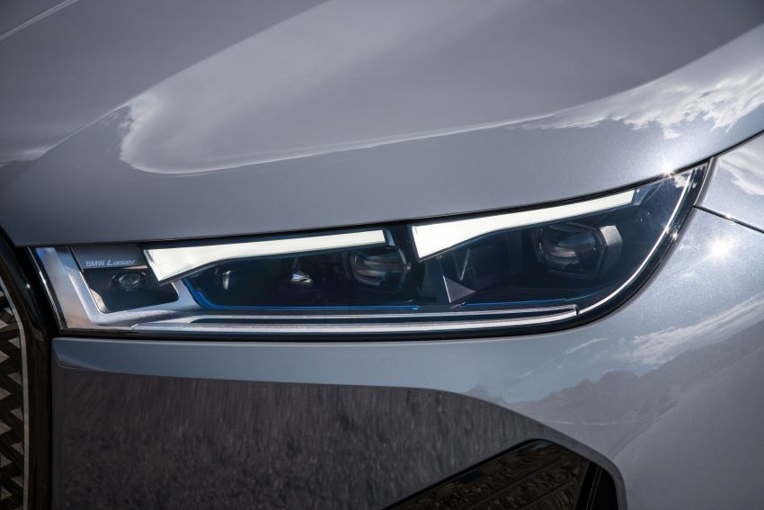 BMW iX fully detailed – power, range bumped slightly to up to 523 PS, 630 km; new M60 with over 600 PS Image #1301908