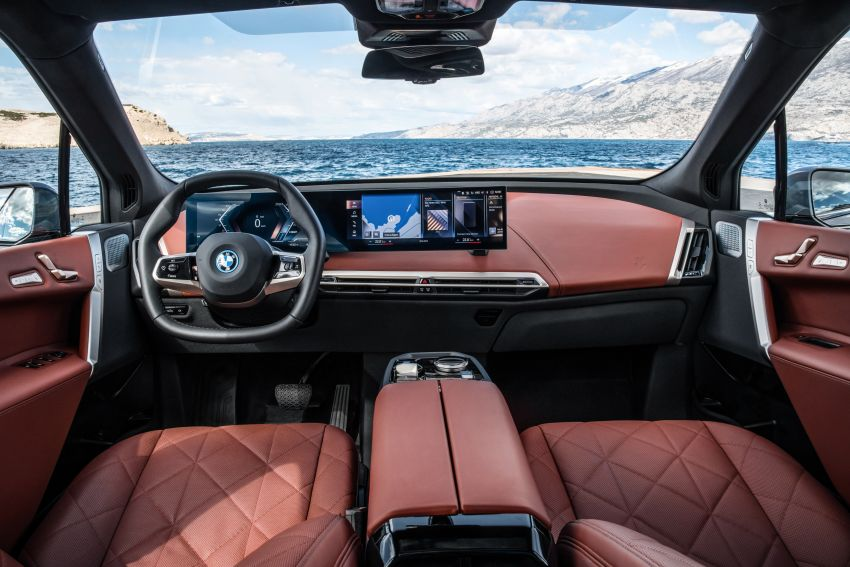 BMW iX fully detailed – power, range bumped slightly to up to 523 PS, 630 km; new M60 with over 600 PS Image #1301916