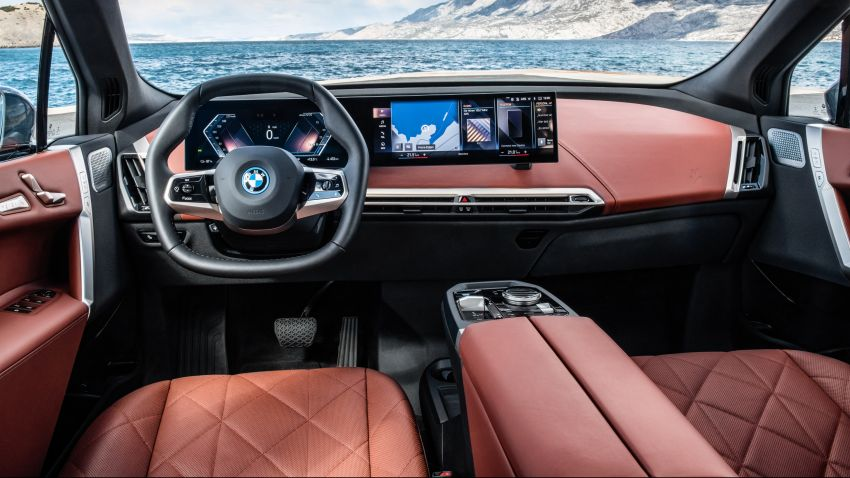BMW iX fully detailed – power, range bumped slightly to up to 523 PS, 630 km; new M60 with over 600 PS Image #1301917