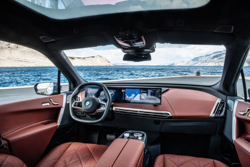 BMW iX fully detailed – power, range bumped slightly to up to 523 PS, 630 km; new M60 with over 600 PS Image #1301918