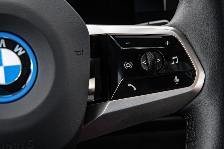 BMW iX fully detailed – power, range bumped slightly to up to 523 PS, 630 km; new M60 with over 600 PS Image #1301921