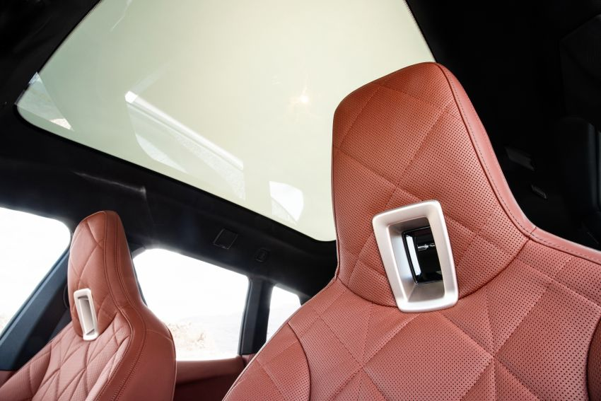 BMW iX fully detailed – power, range bumped slightly to up to 523 PS, 630 km; new M60 with over 600 PS Image #1301929