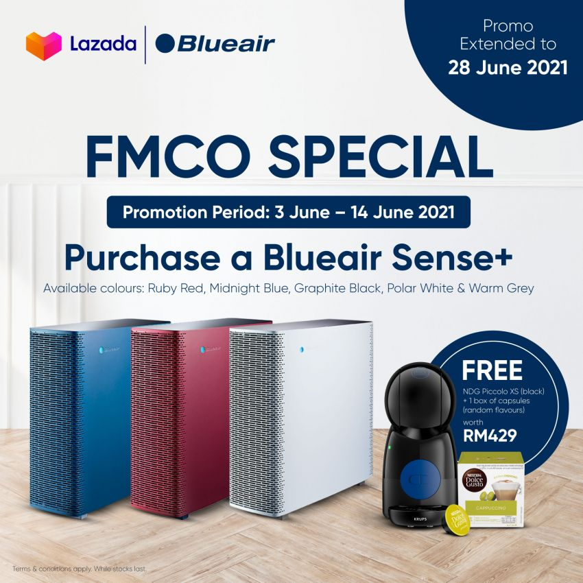 AD: Buy a Blueair HealthProtect or Cabin Air purifier; get a Google Nest Mini, particle filter and more, free! Image #1310001