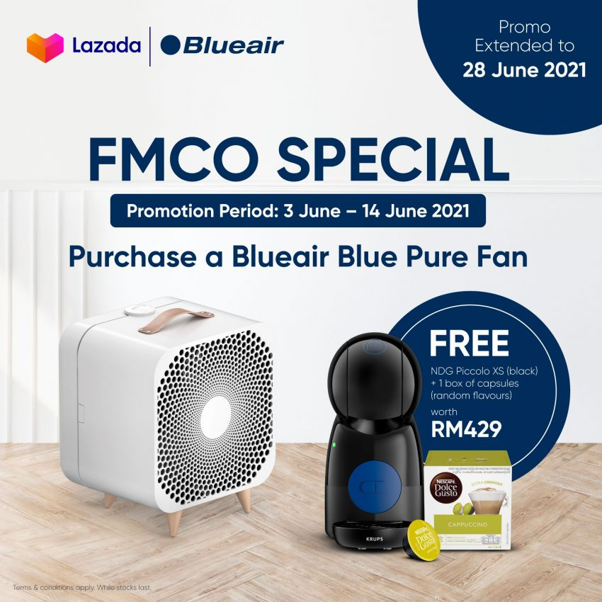 AD: Buy a Blueair HealthProtect or Cabin Air purifier; get a Google Nest Mini, particle filter and more, free! Image #1310002