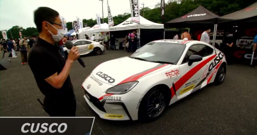 Cusco Toyota GR86 Concept – two-way LSD, coilovers Image #1304088