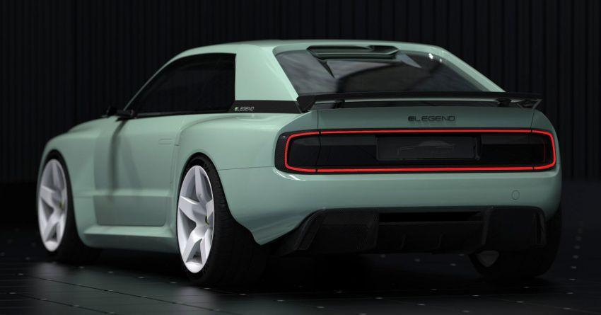 E-Legend EL1 revealed as an EV homage to the iconic Audi Quattro – 816 PS; 0-100 km/h under 2.8 seconds Image #1313060
