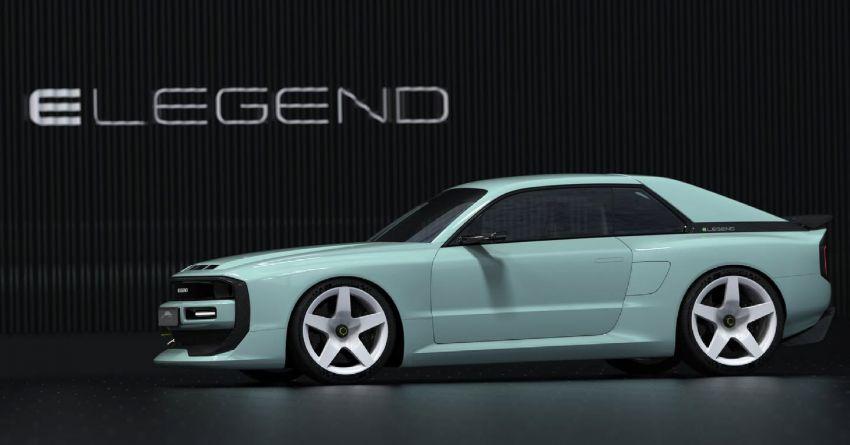 E-Legend EL1 revealed as an EV homage to the iconic Audi Quattro – 816 PS; 0-100 km/h under 2.8 seconds Image #1313064