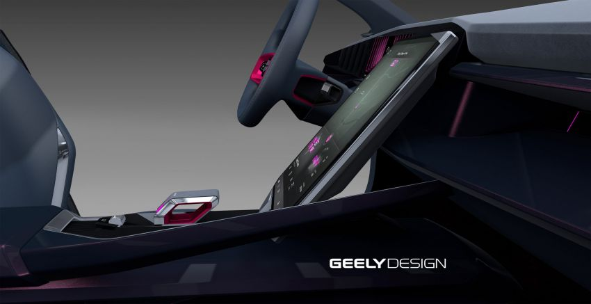 Geely Vision Starburst concept, a new design direction Image #1304544