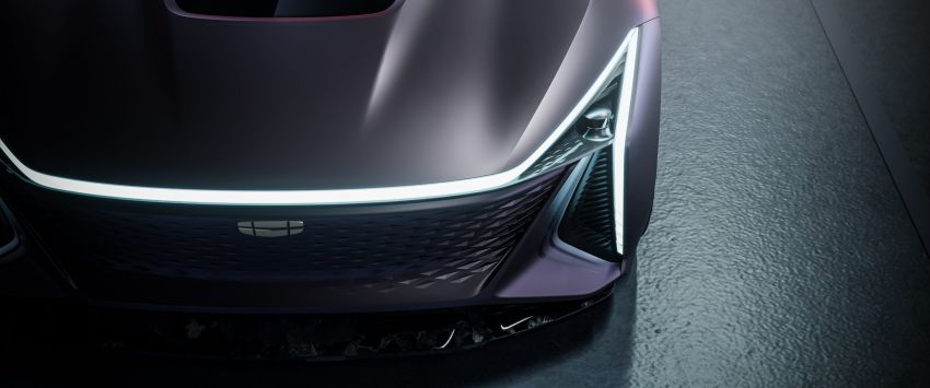 Geely Vision Starburst concept, a new design direction Image #1304531