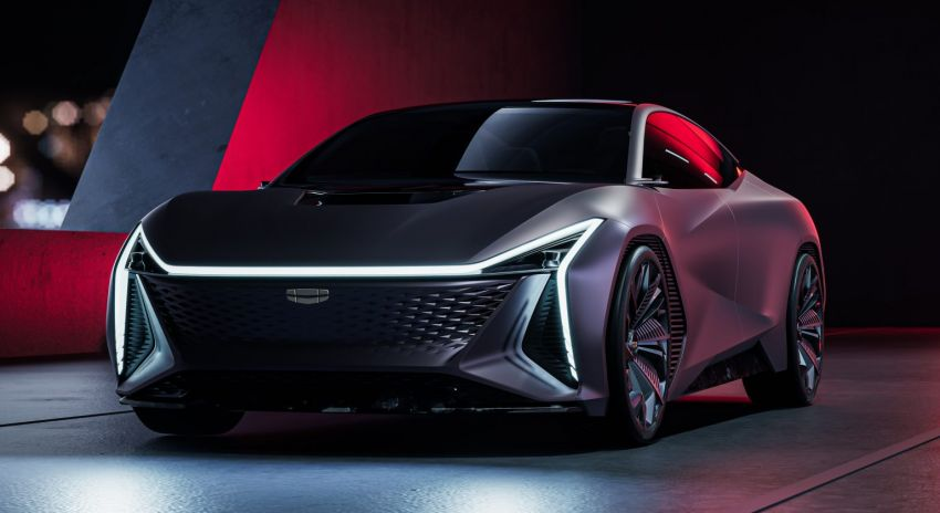 Geely Vision Starburst concept, a new design direction Image #1304533