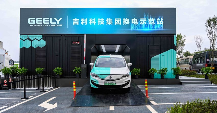 Geely to stick to integrated battery tech for EVs based on SEA platform – battery swapping still a long way off Image #1308942
