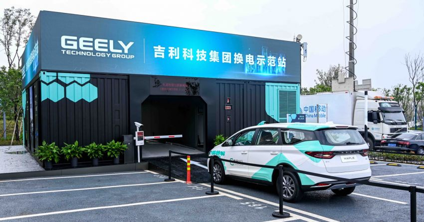 Geely to stick to integrated battery tech for EVs based on SEA platform – battery swapping still a long way off Image #1308944