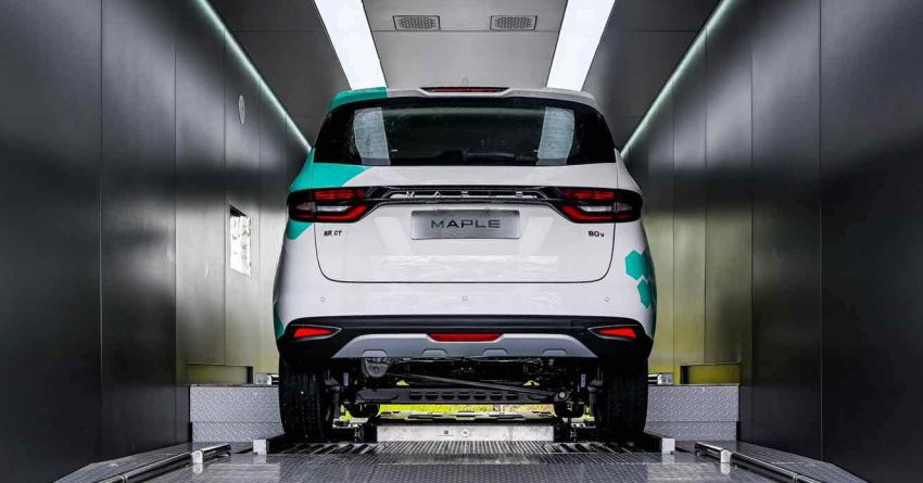 Geely to stick to integrated battery tech for EVs based on SEA platform – battery swapping still a long way off Image #1308945