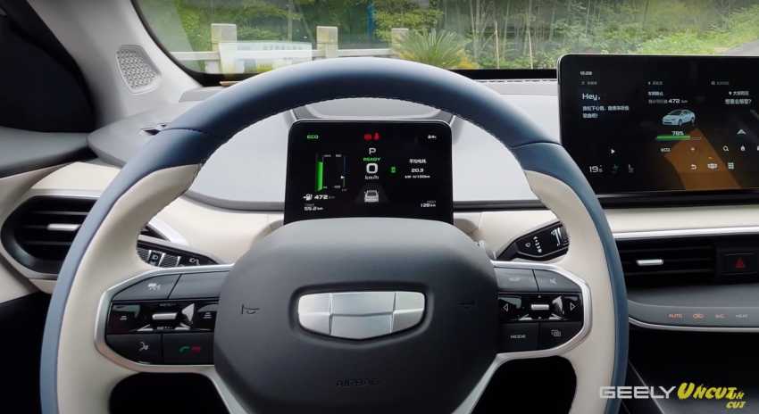 VIDEO: Geometry A Pro – Geely's improved sedan EV has more power/torque, 70 kWh batt for 600 km range Image #1312683