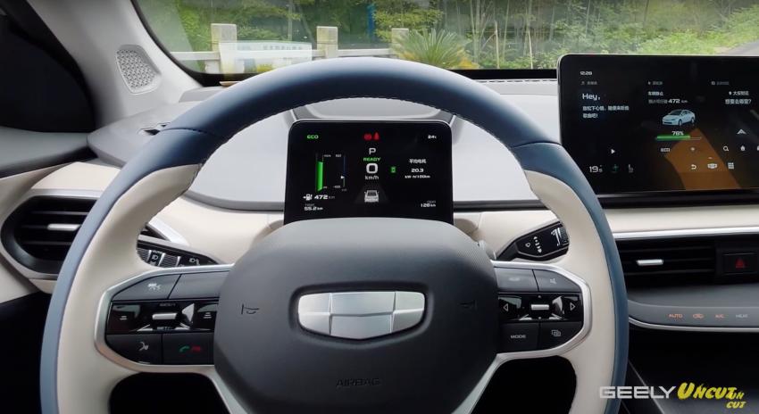 VIDEO: Geometry A Pro – sedan elektrik Geely yang dipertingkat dengan kuasa 201 hp, jarak gerak 600 km Image #1312772