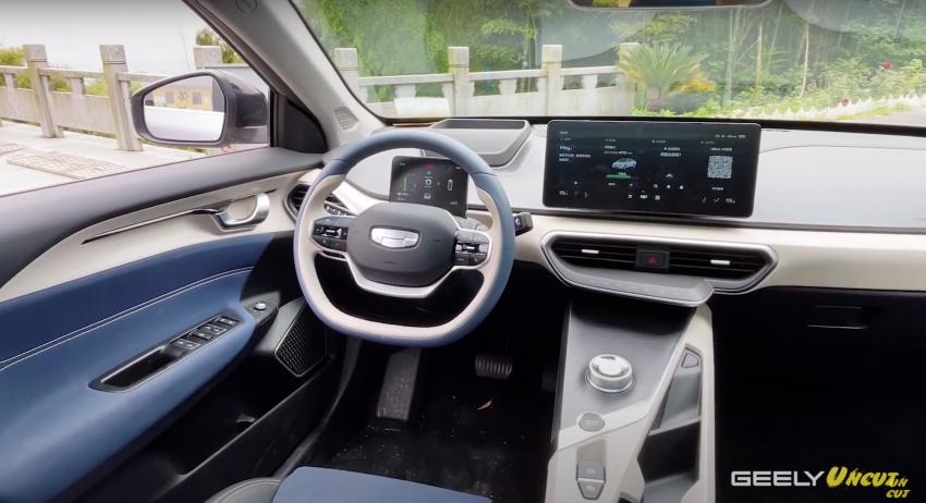 VIDEO: Geometry A Pro – sedan elektrik Geely yang dipertingkat dengan kuasa 201 hp, jarak gerak 600 km Image #1312771