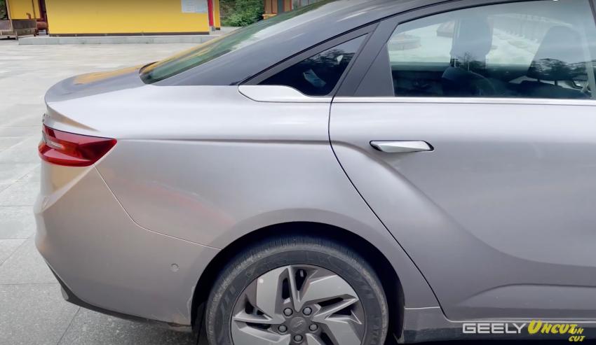 VIDEO: Geometry A Pro – sedan elektrik Geely yang dipertingkat dengan kuasa 201 hp, jarak gerak 600 km Image #1312779