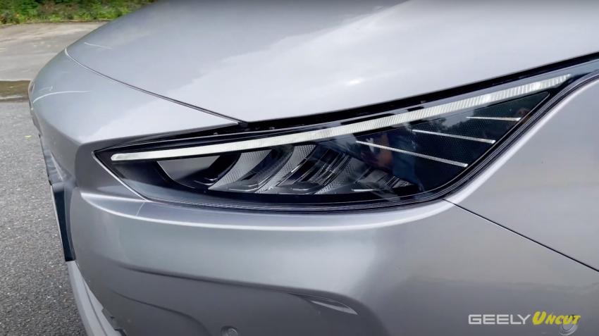 VIDEO: Geometry A Pro – Geely's improved sedan EV has more power/torque, 70 kWh batt for 600 km range Image #1312677