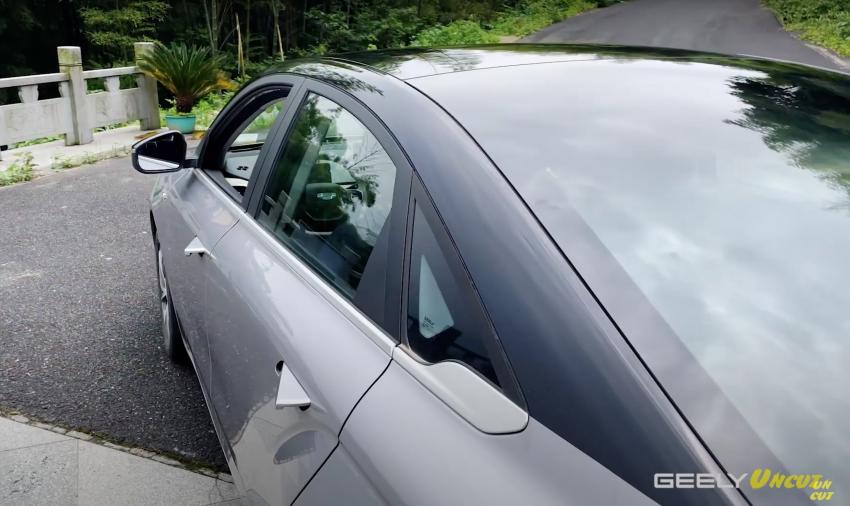 VIDEO: Geometry A Pro – sedan elektrik Geely yang dipertingkat dengan kuasa 201 hp, jarak gerak 600 km Image #1312768