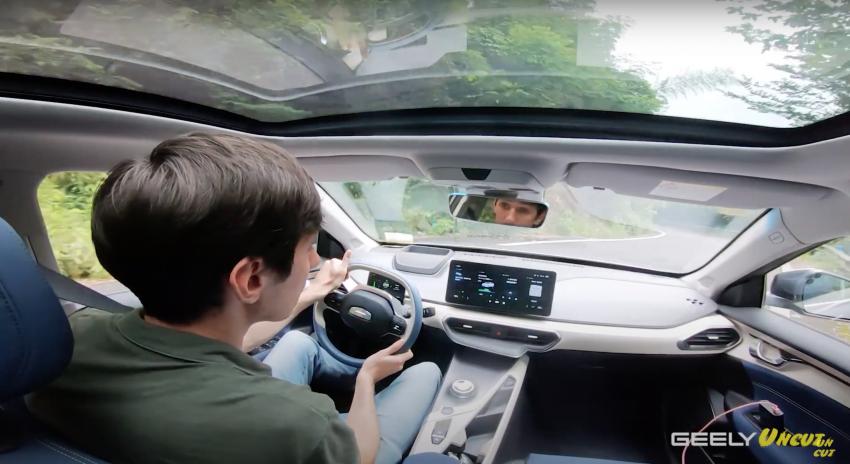 VIDEO: Geometry A Pro – Geely's improved sedan EV has more power/torque, 70 kWh batt for 600 km range Image #1312691