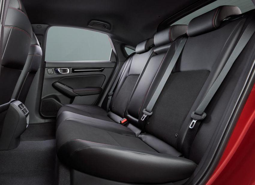 Honda Civic Hatchback 2022 didedahkan – pilihan kotak gear manual 6-kelajuan, suspensi lebih sporty Image #1311312
