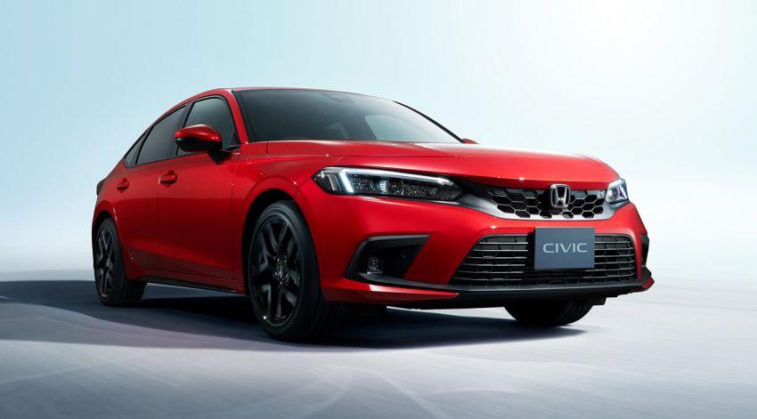 Honda Civic Hatchback 2022 didedahkan – pilihan kotak gear manual 6-kelajuan, suspensi lebih sporty Image #1311329
