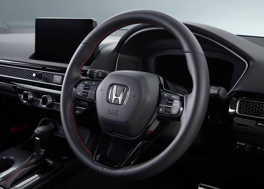 Honda Civic Hatchback 2022 didedahkan – pilihan kotak gear manual 6-kelajuan, suspensi lebih sporty Image #1311315