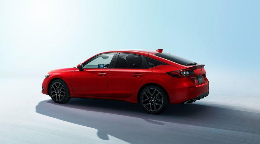 Honda Civic Hatchback 2022 didedahkan – pilihan kotak gear manual 6-kelajuan, suspensi lebih sporty Image #1311324