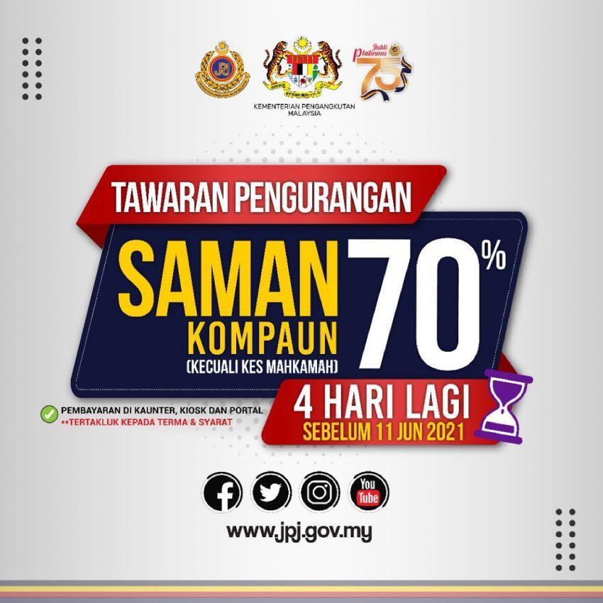 JPJ's 70% discount campaign for <em>saman</em> ends June 11 Image #1305260