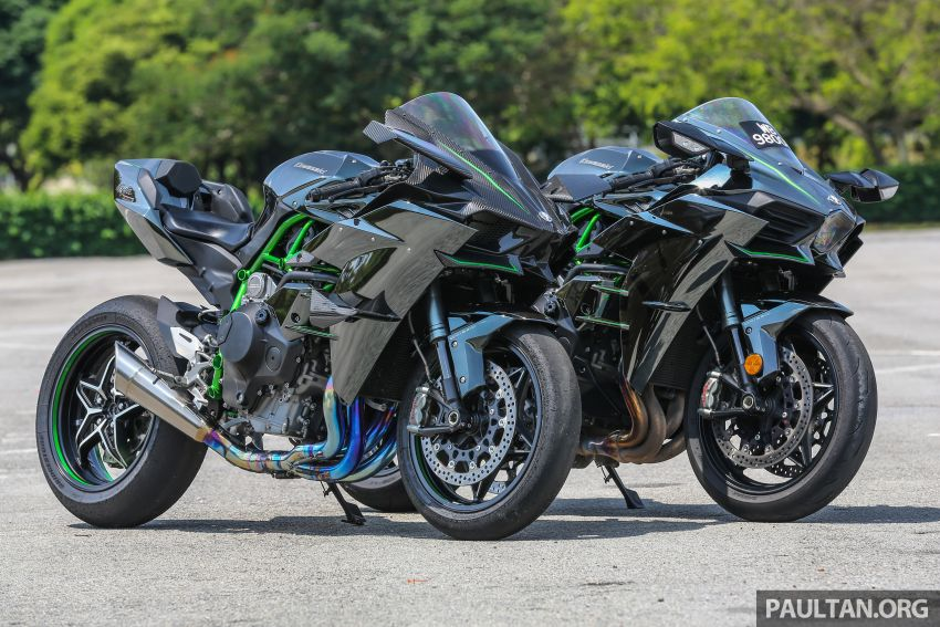Kawasaki pushes forward e-bikes, hybrids and hydrogen fuel for motorcycle segment in 2030 vision Image #1303071