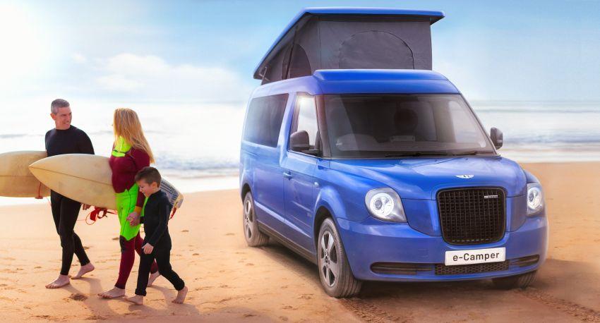 LEVC e-Camper – taxi maker's electric campervan has 1.5L range extender with 98 km EV range, sleeps four Image #1313022