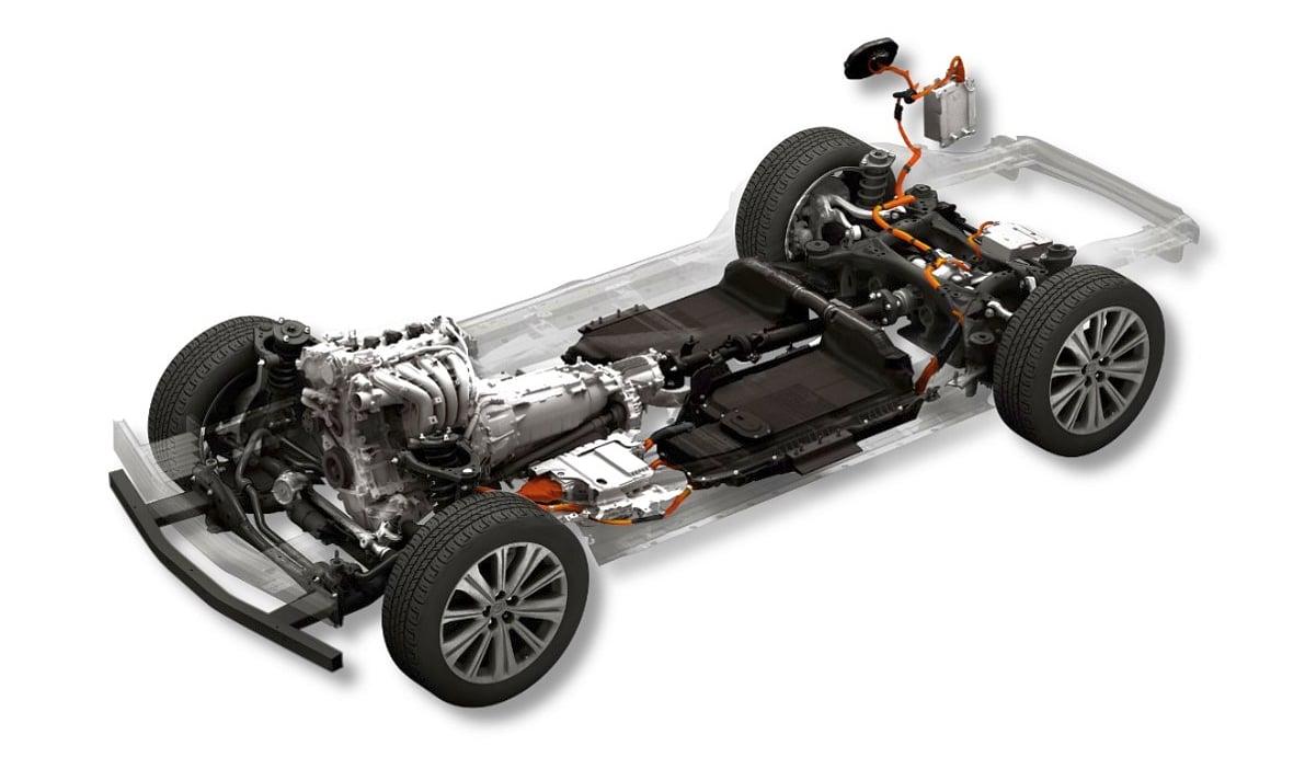 Mazda large petrol engine PHEV