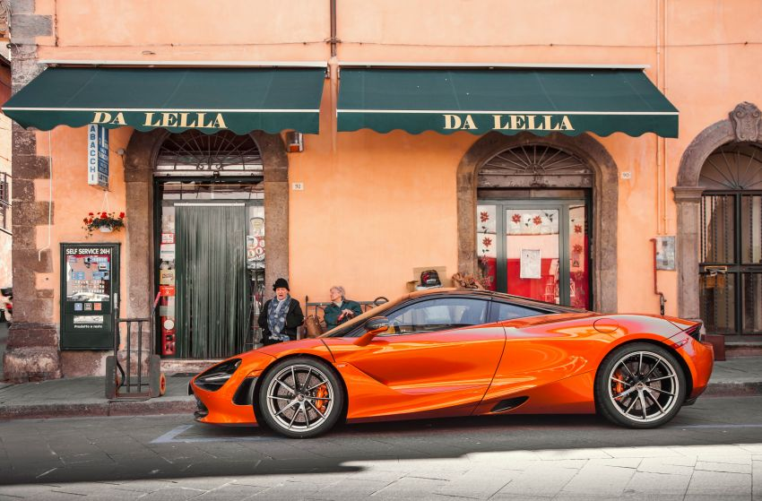 New McLaren Artura in Azores Orange to debut in Italy Image #1304819