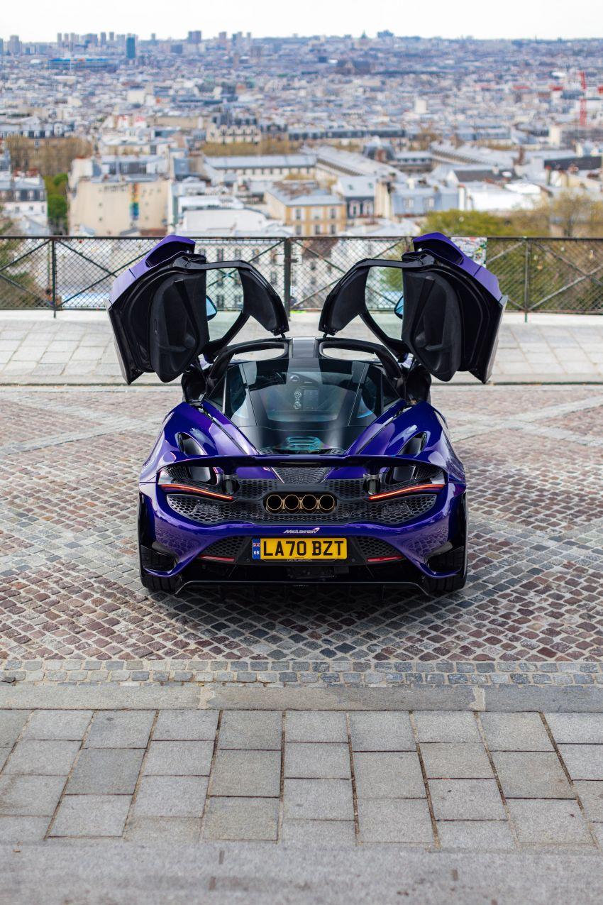 New McLaren Artura in Azores Orange to debut in Italy Image #1304827