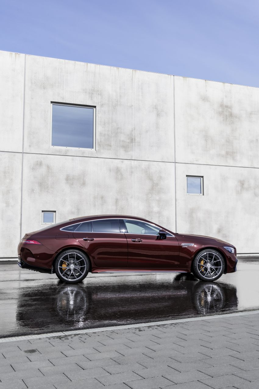 Mercedes-AMG GT 4-Door Coupé facelift revealed with minor aesthetic, kit upgrades – V8 models coming later Image #1307298