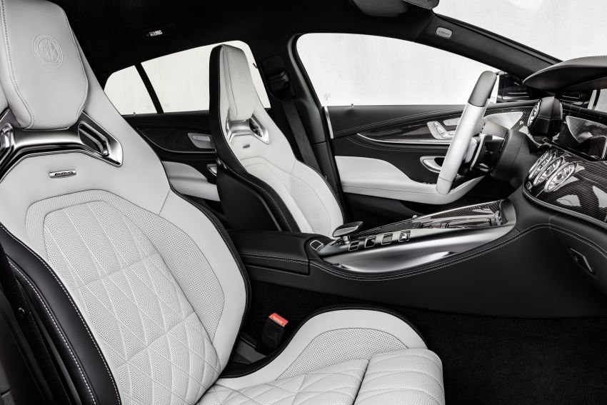 Mercedes-AMG GT 4-Door Coupé facelift revealed with minor aesthetic, kit upgrades – V8 models coming later Image #1307311