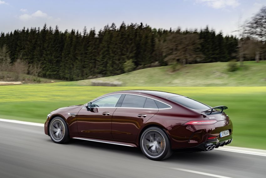 Mercedes-AMG GT 4-Door Coupé facelift revealed with minor aesthetic, kit upgrades – V8 models coming later Image #1307315