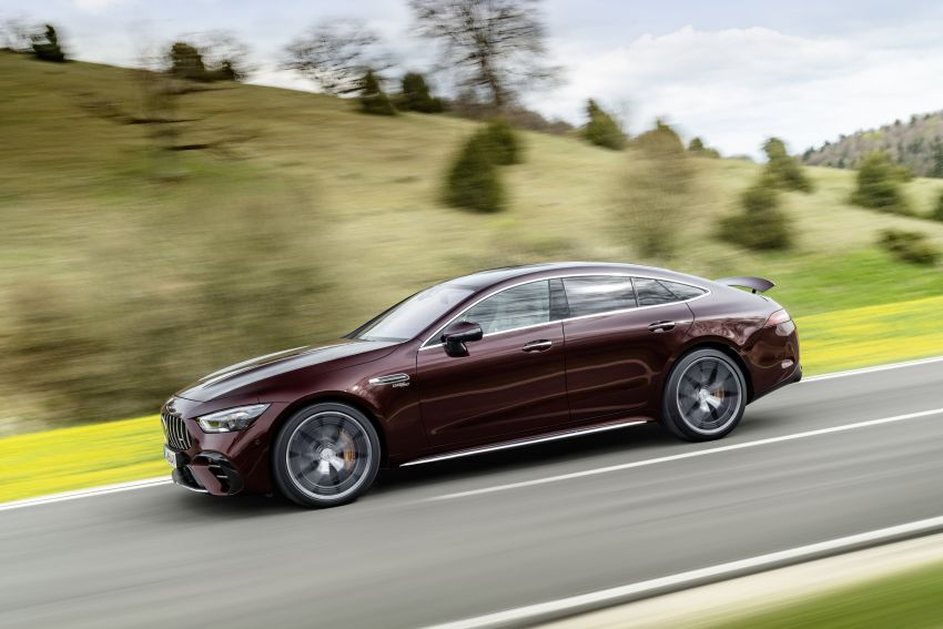 Mercedes-AMG GT 4-Door Coupé facelift revealed with minor aesthetic, kit upgrades – V8 models coming later Image #1307318