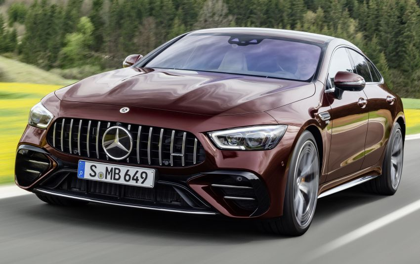 Mercedes-AMG GT 4-Door Coupé facelift revealed with minor aesthetic, kit upgrades – V8 models coming later Image #1307319