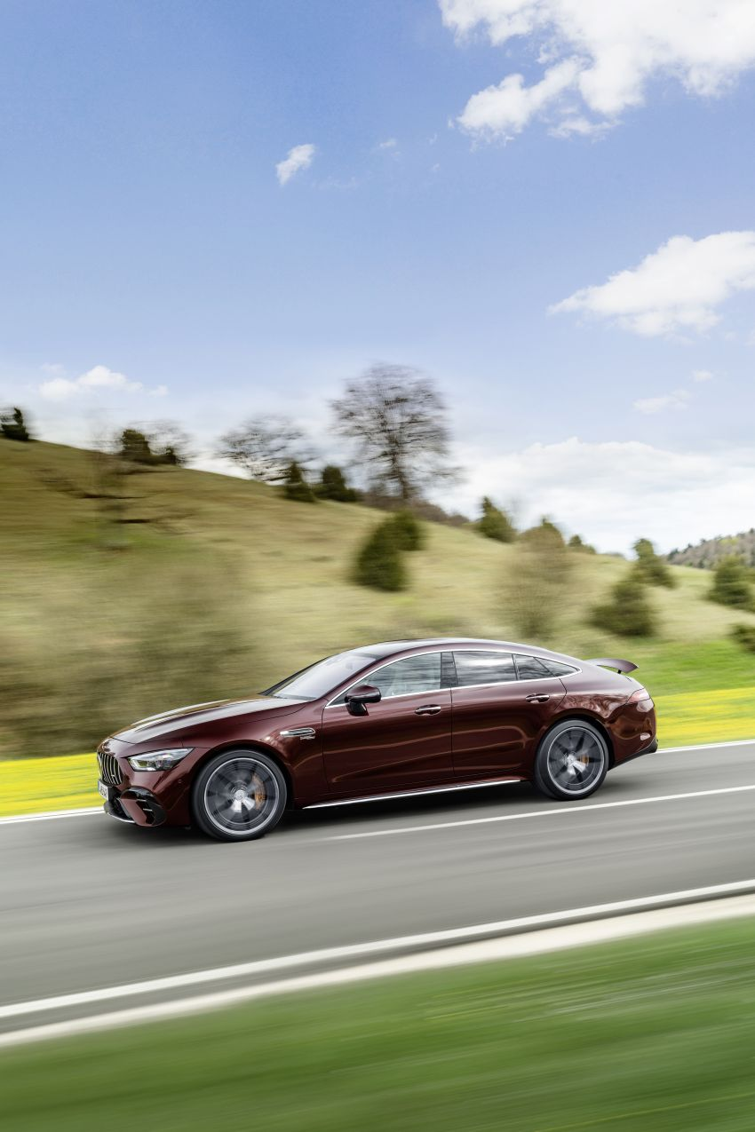 Mercedes-AMG GT 4-Door Coupé facelift revealed with minor aesthetic, kit upgrades – V8 models coming later Image #1307320