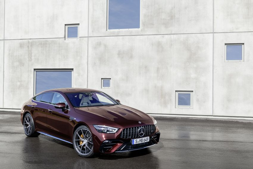 Mercedes-AMG GT 4-Door Coupé facelift revealed with minor aesthetic, kit upgrades – V8 models coming later Image #1307299